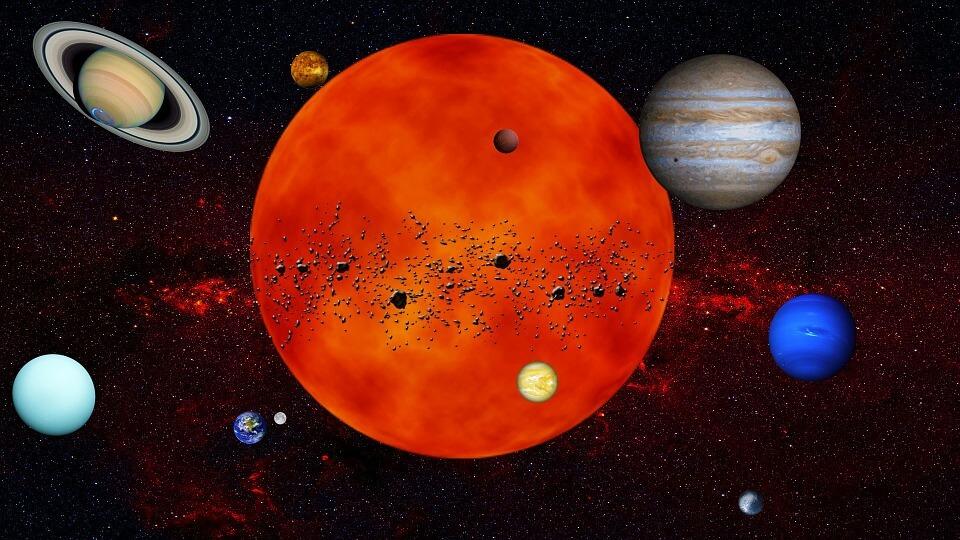 El verdadero centro de nuestro Sistema Solar
